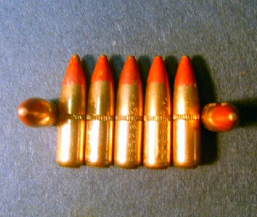 .223 cal. Lake City 55gr. M-196 Tracer Machine-Pulled (250 ct.)