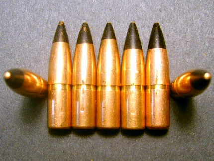 .30 cal. Lake City 163gr. M-2 A.P. Machine-Pulled (50ct.)
