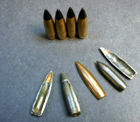 .30 cal. Danish Military 147gr. Black-Tip Bullets (100ct.)