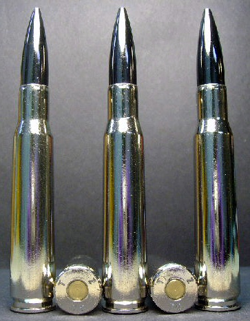 .50 BMG cal. M-2 Armor Piercing - Black Nickel (5ct.) RARE!