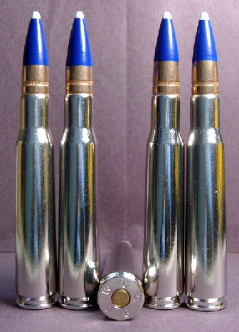 .50 BMG cal. M-1 Super-Incendiary/AKA - FULL BLUE (10ct.) RARE!