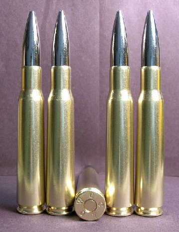 .50 BMG cal. M-33 Heavy Ball - IMI Nickel Bullet (10ct.)