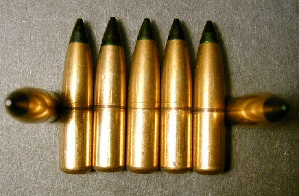.311 cal. 150gr. Green Tip Tracer Bullets! (50ct.)